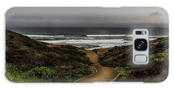 A Walk To The Beach Galaxy Case