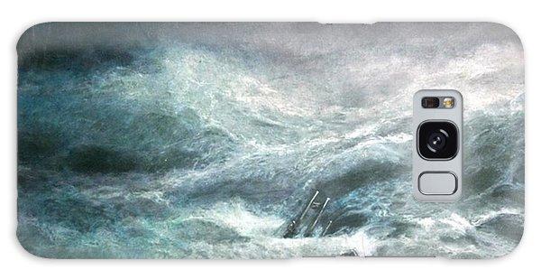 a wave my way by Jarko Galaxy Case