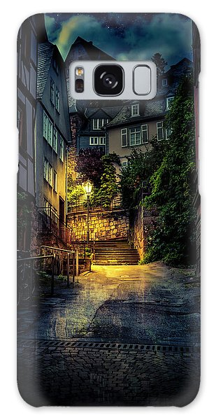 Galaxy Case featuring the photograph A Wet Evening In Marburg by David Morefield