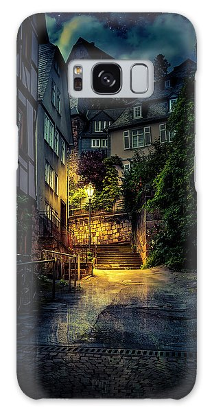 A Wet Evening In Marburg Galaxy Case
