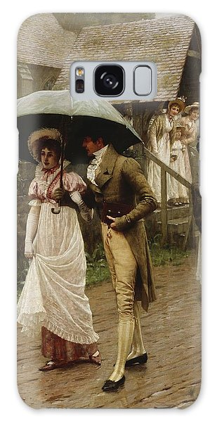 English Galaxy Case - A Wet Sunday Morning by Edmund Blair Leighton