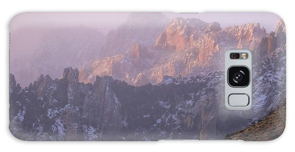 A Winter Morning At The Chiricahua Mountains'  Portal Peak Galaxy Case
