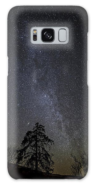 A Winter Night Galaxy Case