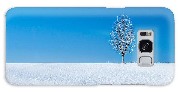 Cold Day Galaxy Case - A Winter's Landmark by Todd Klassy