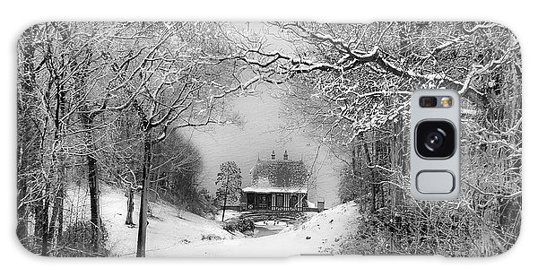 A Winter's Tale In Centerport New York Galaxy Case