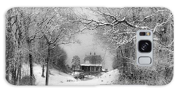 A Winter's Tale In Centerport New York Galaxy Case