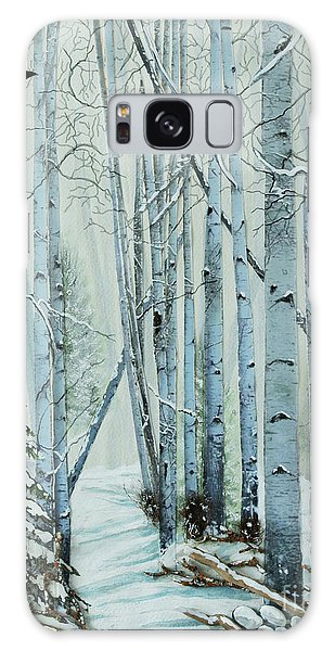 A Winter's Tale Galaxy Case by Stanza Widen
