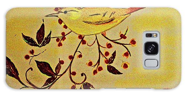 A Wren - In Pastel  Galaxy Case