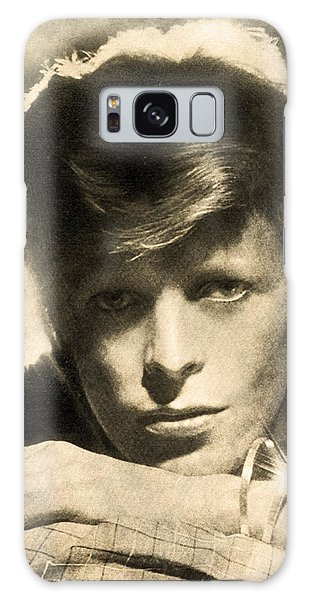 Glam Rock Galaxy Case - A Young David Bowie by Anthony Murphy