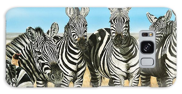 A Zeal Of Zebras Galaxy Case