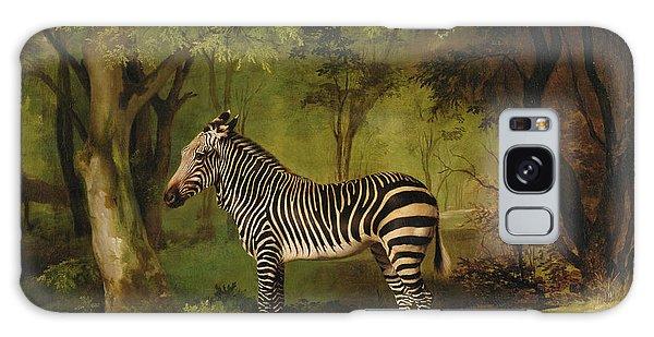 Portraiture Galaxy Case - A Zebra by George Stubbs