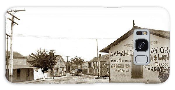 A. A. Manuel General Merchandise, Monterey 1901 Galaxy Case