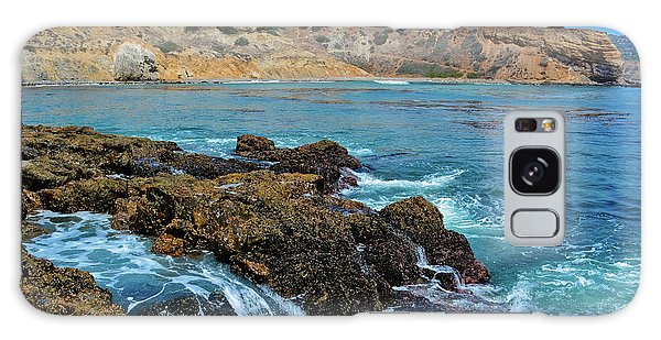 Galaxy Case featuring the photograph Abalone Cove Shoreline Park Sacred Cove by Kyle Hanson