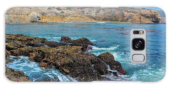 Abalone Cove Shoreline Park Sacred Cove Galaxy Case
