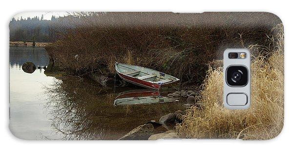 Abandoned Boat II Galaxy Case