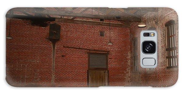 Abandoned Brick Warehouse Galaxy Case by Ronald Olivier