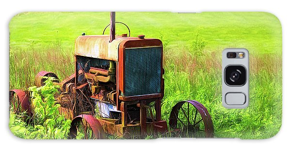 Derelict Galaxy Case - Abandoned Farm Tractor by Tom Mc Nemar