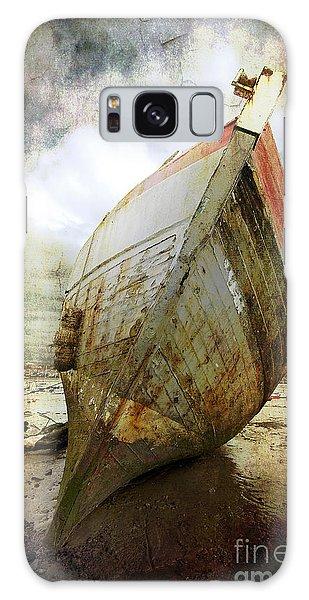Abandoned Fishing Boat Galaxy Case