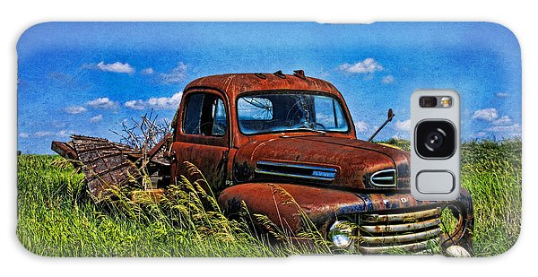 Abandoned Ford Truck In The Prairie Galaxy Case