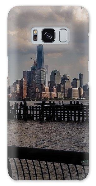 Abandoned Hoboken Pier Galaxy Case