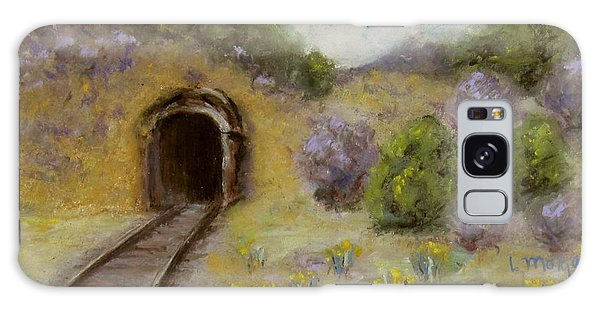 Abandoned Mine Galaxy Case by Laurie Morgan