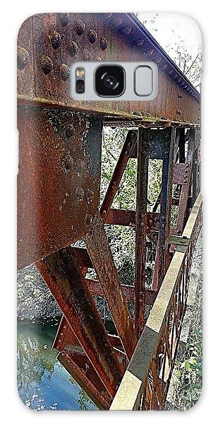 Abandoned Steel Bridge Nashville Indiana Galaxy Case