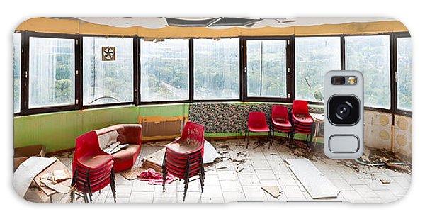 Desert View Tower Galaxy Case - Abandoned Tower Restaurant - Urban Panorama by Dirk Ercken