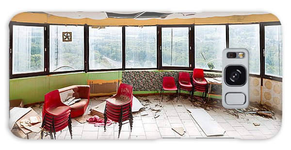 Abandoned Tower Restaurant - Urban Panorama Galaxy Case