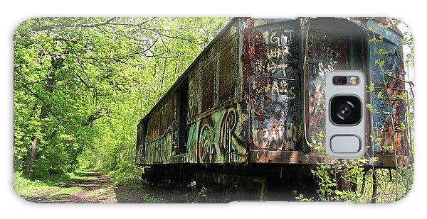Abandoned Train Car Galaxy Case