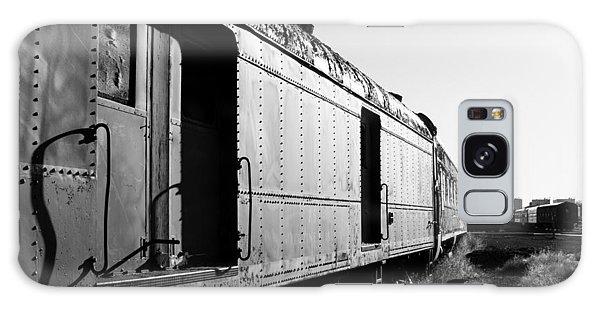Abandoned Train Cars Galaxy Case
