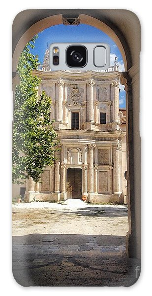 Abbey Of The Holy Spirit At Morrone In Sulmona, Italy Galaxy Case