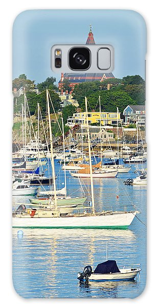 Abbot Hall Over Marblehead Harbor From Chandler Hovey Park Galaxy Case