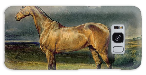 Horse Galaxy Case - Abdul Medschid The Chestnut Arab Horse by Carl Constantin Steffeck