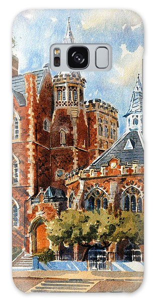 Galaxy Case featuring the painting Abercorn-the Old Grammar School by David Gilmore