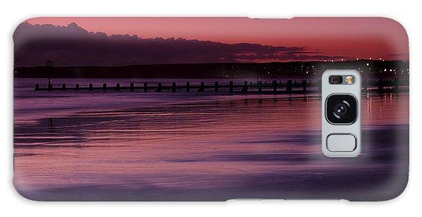 Aberdeen Beach After Sunset Galaxy Case by Gabor Pozsgai