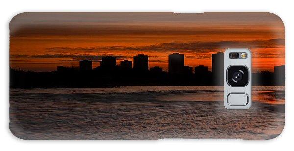 Aberdeen By Sunset Galaxy Case by Gabor Pozsgai