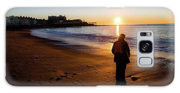 Aberystwyth Sunset Galaxy Case