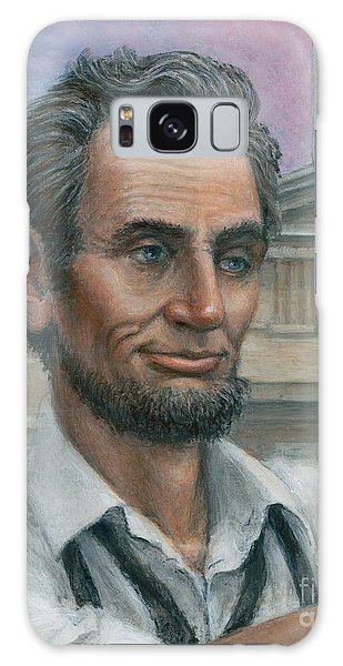Abe's 1st Selfie - Detail Galaxy Case