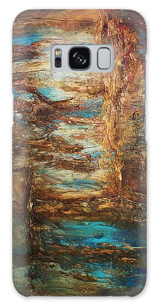 Lagoon Galaxy Case by Patricia Lintner