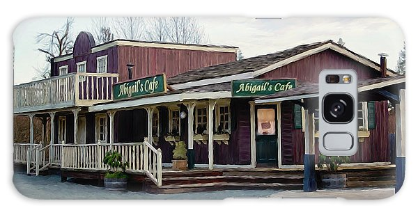 Abigail's Cafe - Hope Valley Art Galaxy Case