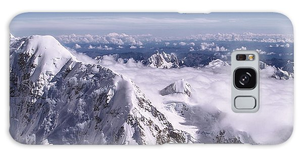 Above Denali Galaxy Case by Chad Dutson