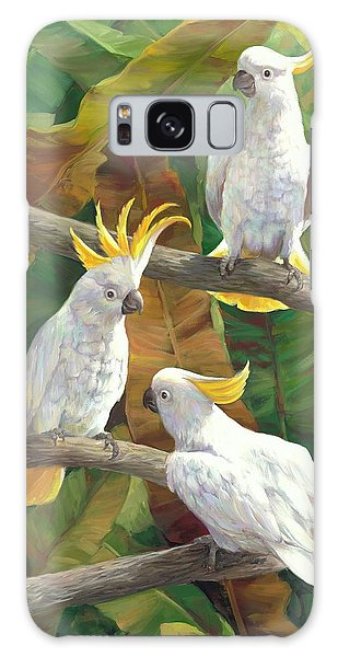 Cockatoo Galaxy S8 Case - Above It All by Laurie Hein