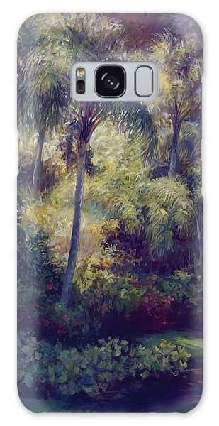 Old Florida Galaxy Case - Above The Palms by Laurie Snow Hein