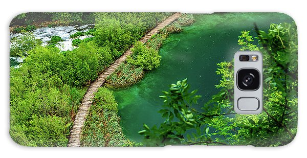 Above The Paths At Plitvice Lakes National Park, Croatia Galaxy Case