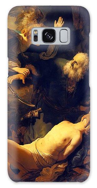 Abraham And Isaac Galaxy Case