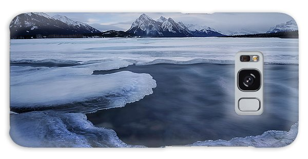 Abraham Lake Sans Bubbles Galaxy Case