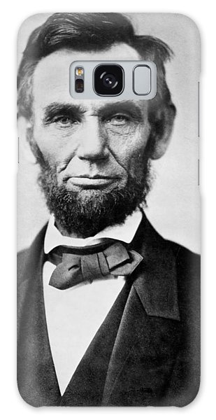 Abraham Lincoln -  Portrait Galaxy Case