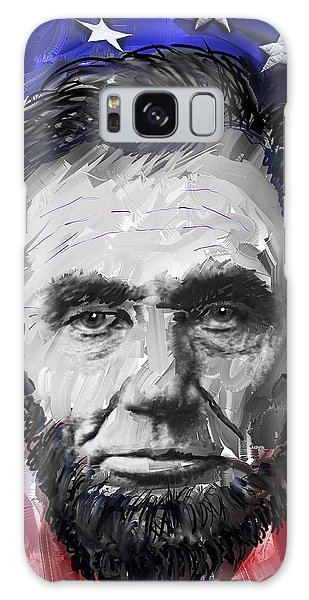 Us Civil War Galaxy Case - Abraham Lincoln - 16th U S President by Daniel Hagerman