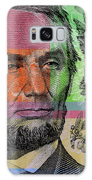 Abraham Lincoln - $5 Bill Galaxy Case