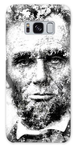 Us Civil War Galaxy Case - Abraham Lincoln For Eternity by Daniel Hagerman